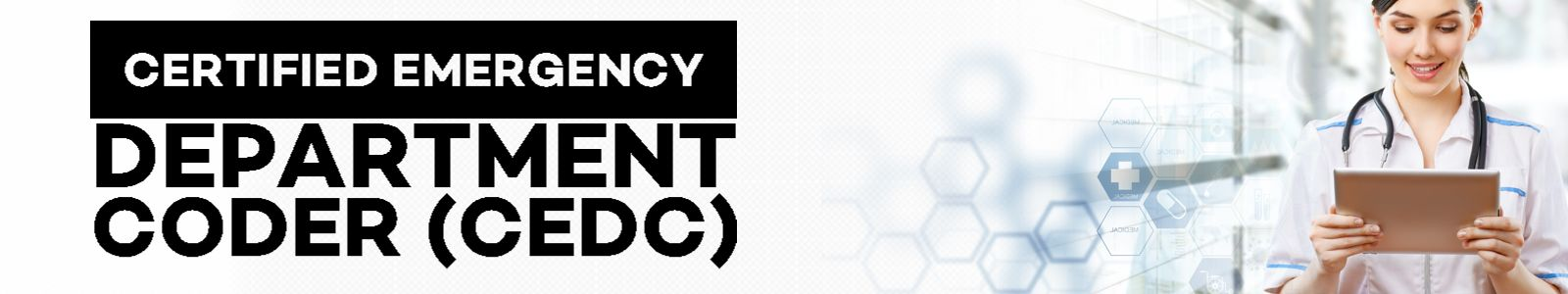 Certified Emergency Department Coder (CEDC)