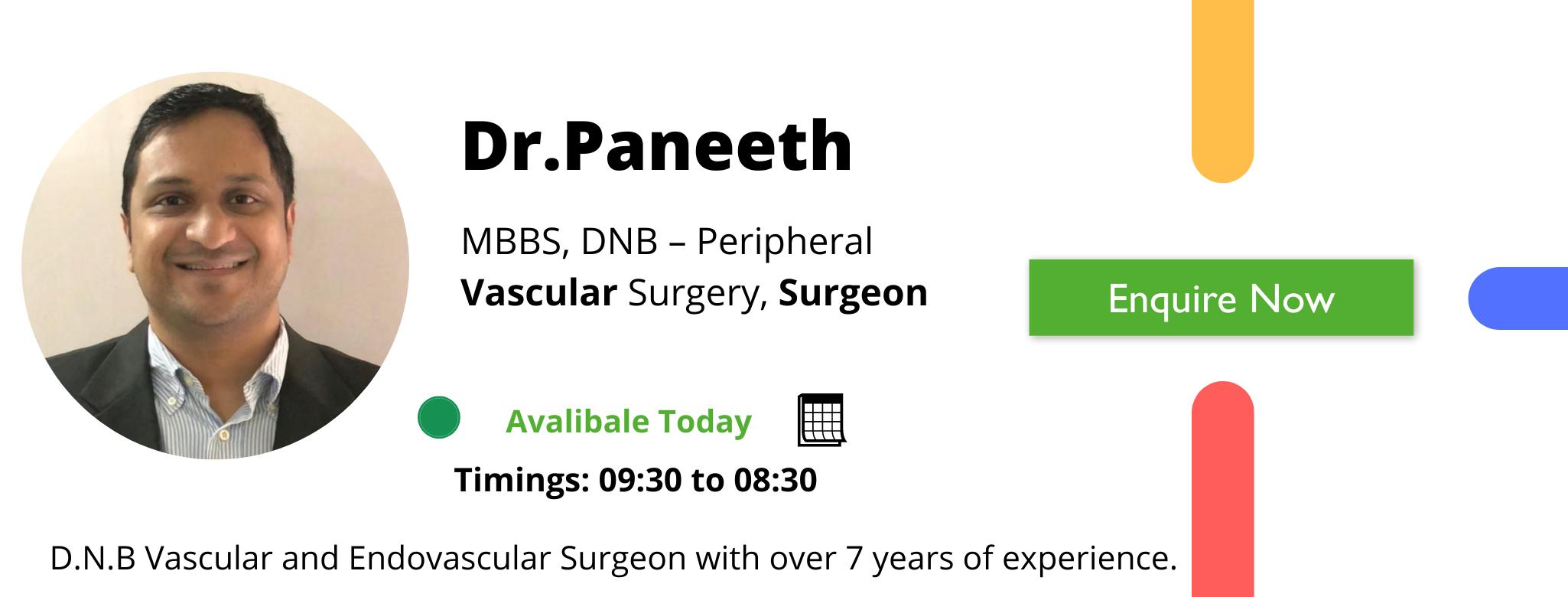 Dr.Paneeth Varicose veins