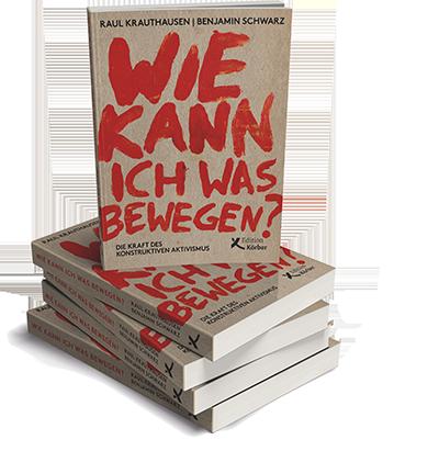 """Buchcover: """"Wie kann ich was bewegen?"""""""